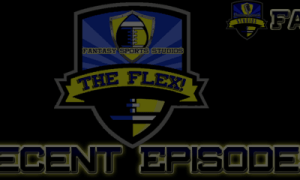 2018 Fantasy Football Mock Draft - PPR Mock Draft 2018 - The Flex Fantasy Football Podcast