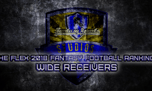 2018 fantasy football wide receiver rankings for 2018