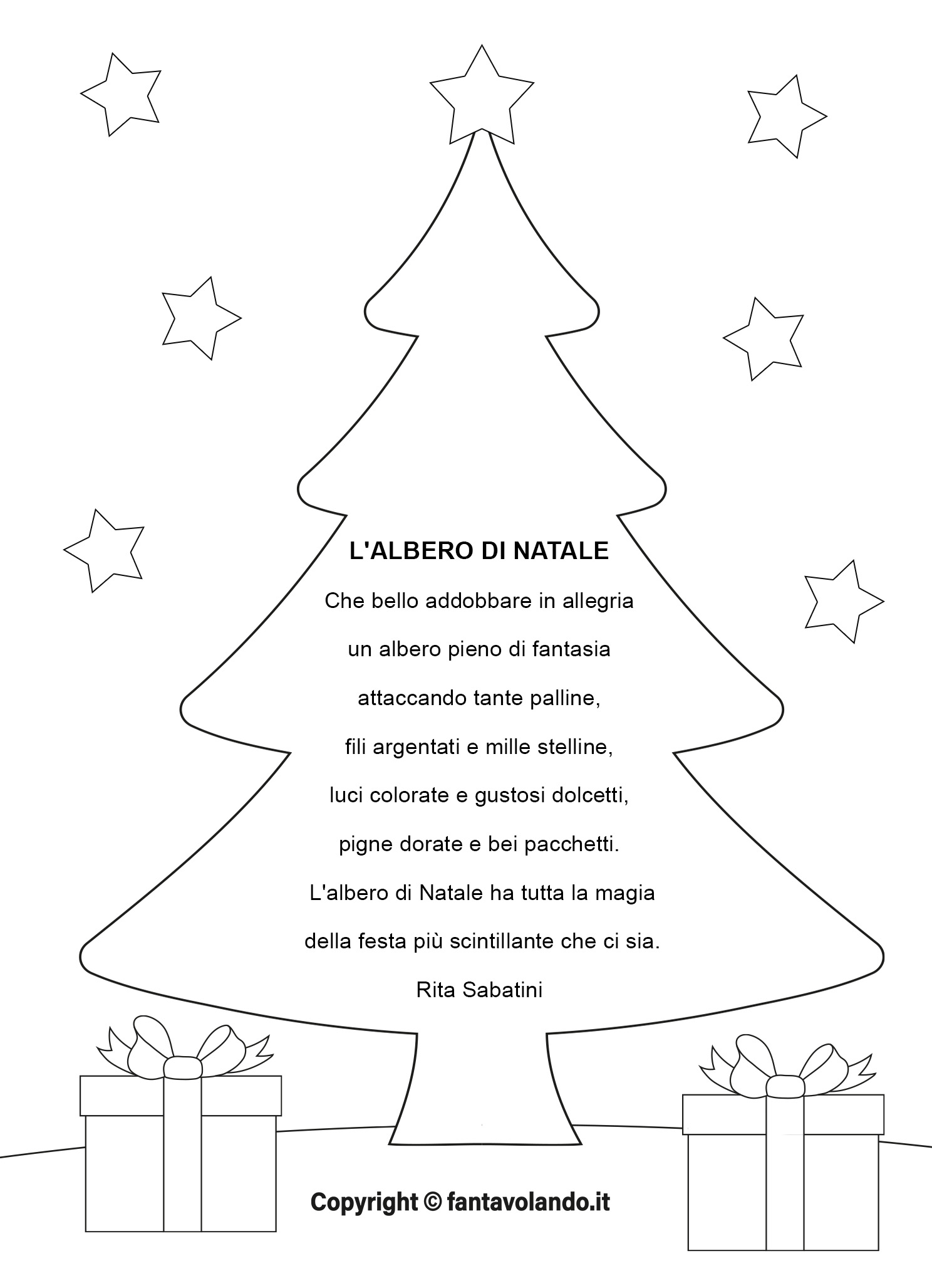 Twinkle, twinkle little star how i wonder what you are up above the world so high like a dimond in the sky. Poesie Per Natale L Albero Di Natale Video Fantavolando