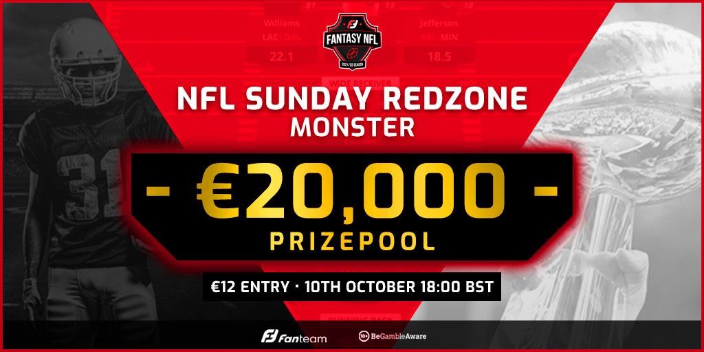 FanTeam Weekly NFL Monster Week 5