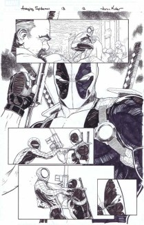 Avenging Spider-Man 13 page