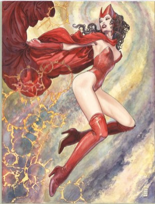 Uncanny Avengers #2 Manara variant