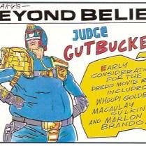 Shaky's Beyond Belief - 2000AD PROG 961