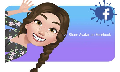 Share Avatar on Facebook