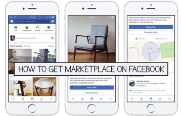 Facebook Marketplace Set Up