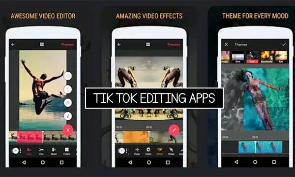 Tik Tok Editing Apps