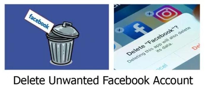 Delete Unwanted Facebook Account
