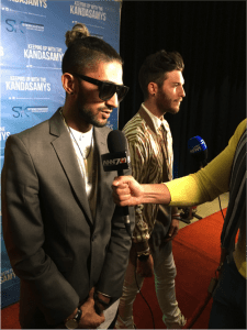 Kyle Deutsch and DJ Deemo movie premiere