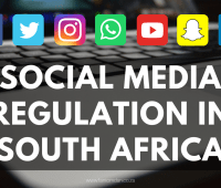 Social Media Regulation in South Africa