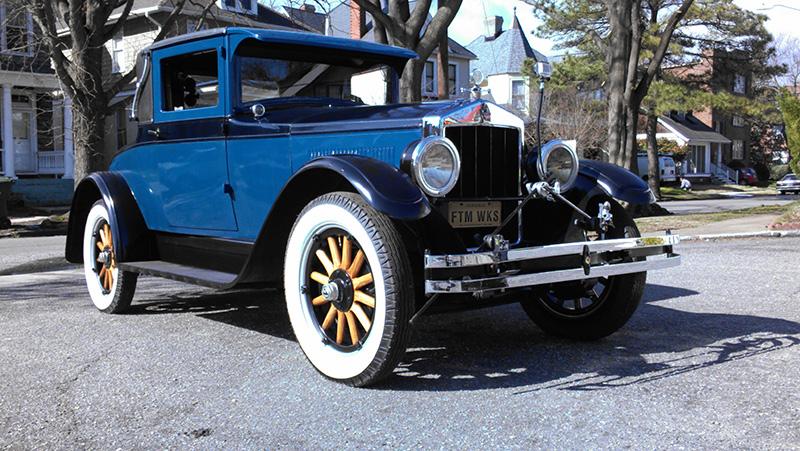 1926 velie 60 series coupe fantomworks. Black Bedroom Furniture Sets. Home Design Ideas