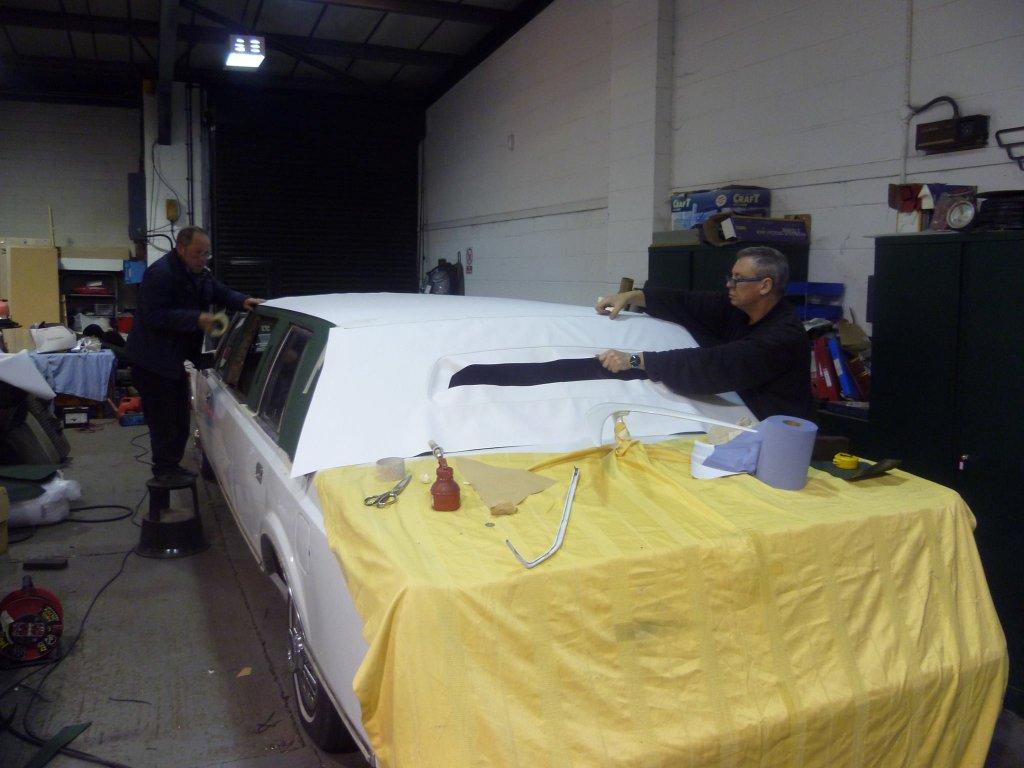 1989 Lincoln Town Car Limousine Paint