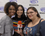 INTERVIEW: Riverdale - Camila Mendes (Veronica) & Ashleigh Murray (Josie) at WonderCon 2017