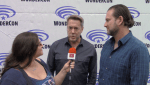 INTERVIEW: Prison Break - Vaun Wilmott & Michael Horowitz at WonderCon 2017