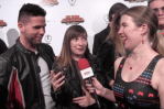 INTERVIEW: Steven Donofrio & Cassandra Lee Morris on the 'My Hero Academia: Two Heroes' Red Carpet