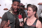 INTERVIEW: Terron Beckham on the 'My Hero Academia: Two Heroes' Red Carpet