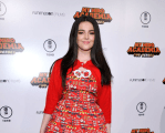 INTERVIEW: Merit Leighton on the 'My Hero Academia: Two Heroes' Red Carpet