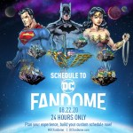 DC FanDome - TV and Movie Panel Schedule
