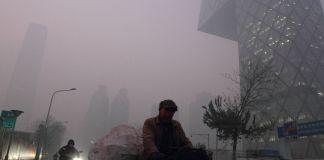 Beijing China Air Polution