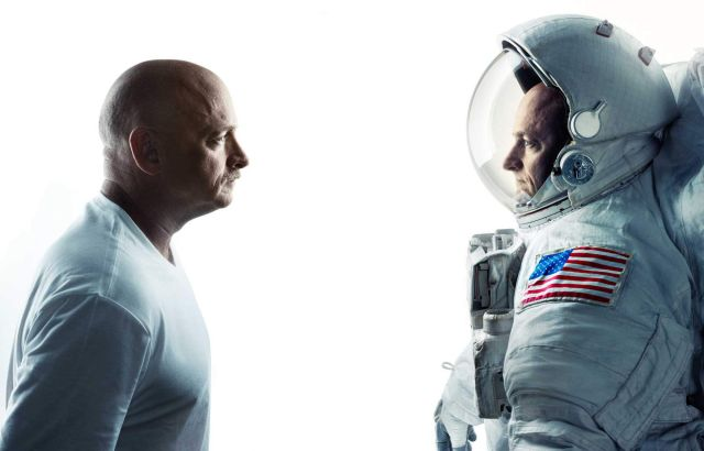Nasa Astronaut Scott and twin brother Mark