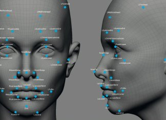 facial recognition points