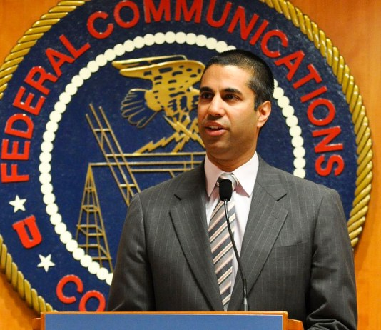 Ajit Pai giving opening remarks at E-Rate Modernization Workshop