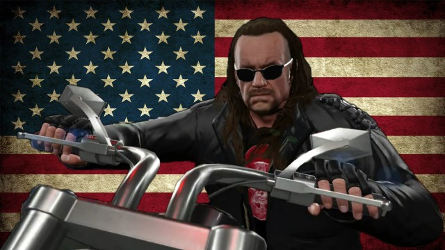 Why The Undertaker should return with the American Badass gimmick?