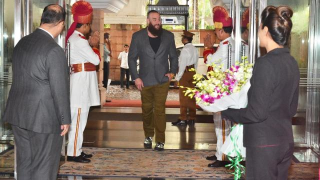 Strowman Visits India