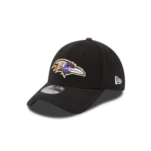 Baltimore Ravens New Era NFL Black Sideline 39THIRTY Flex Hat