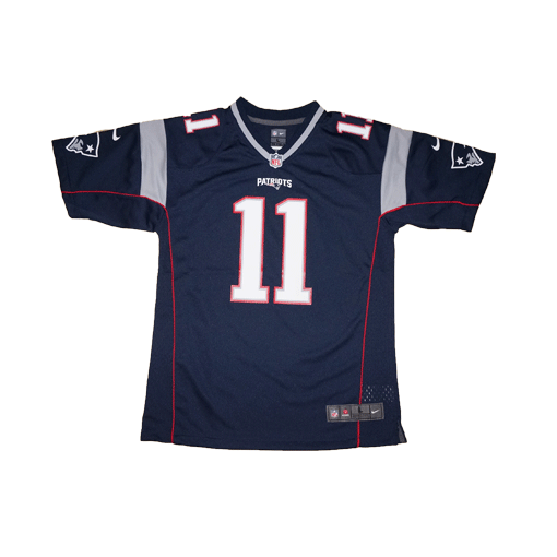 best loved 7dcce c81b9 Youth Nike NFL New England Patriots #11 Julian Edelman Team Color Game  Jersey | Fanwears