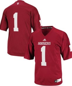 Adidas NCAA Indiana Hoosiers Indiana #1 Football Premier Team Color Jersey