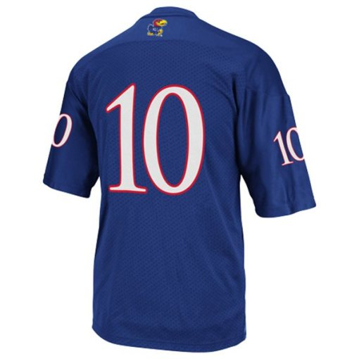 Adidas NCAA Notre Dame Fighting Irish Kansas #10 Football Premier Team Color Jersey Back