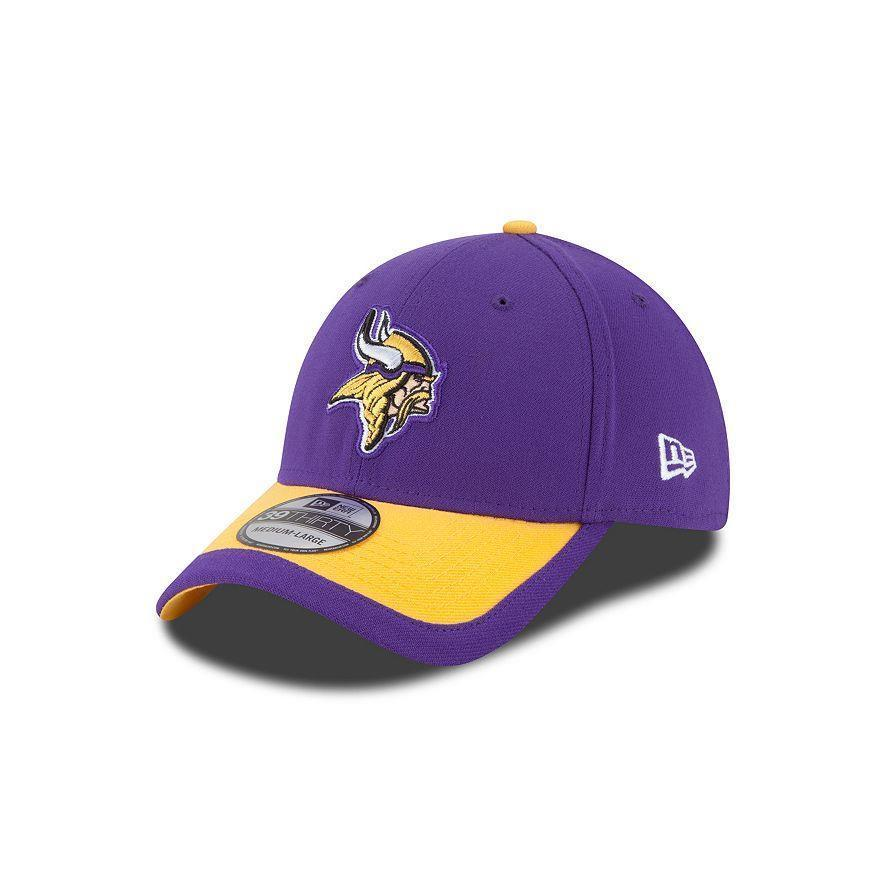 5d470e265c4 Adult Minnesota Vikings New Era NFL Sideline 39THIRTY Flex Hat - L ...