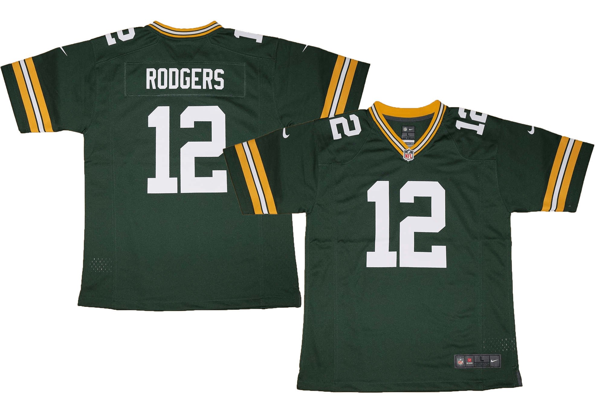 bd144d03c Youth Nike NFL Green Bay Packers #12 Aaron Rodgers Team Color Game ...