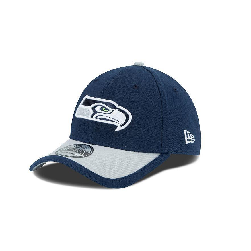4a9b5747985 Adult Seattle Seahawks New Era NFL Sideline 39THIRTY Flex Hat - L XL ...