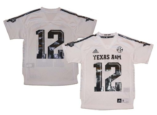 Texas A&M NCAA Jersey 12