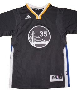 Kevin Durant Golden State Warriors NBA Short Sleeve Swingman Jersey