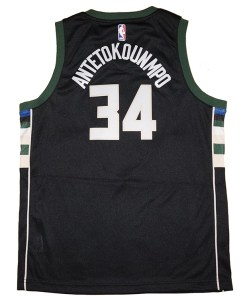 Giannis Antetokounmpo Milwaukee Bucks NBA Jersey Fanwears