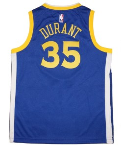 Golden State Warriors Kevin Durant Royal NBA Jersey Fanwears