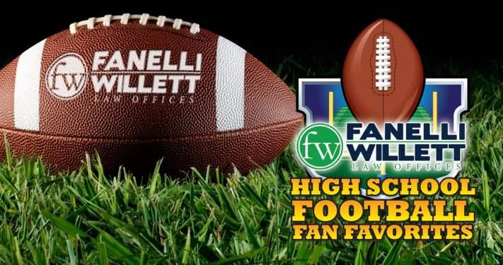 Fanelli Willett High School Football Fan Favorites announcement