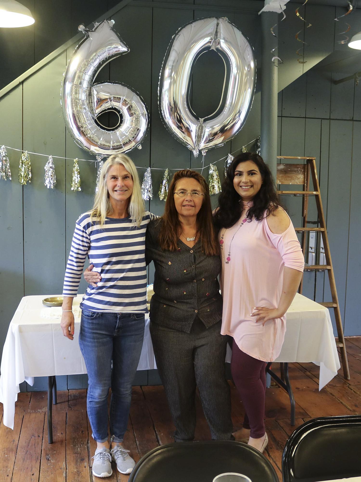 Lisa Walker, Jamie Pednioff and Shreya Kachroo