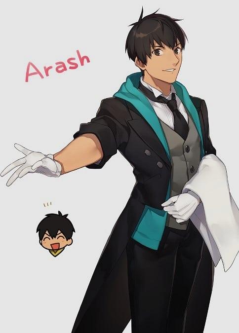 arthur fate stay night arash