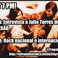 La Tropa Psicótica: Entrevista a Julio Torres de Los Texao de Arequipa (Programa 39)