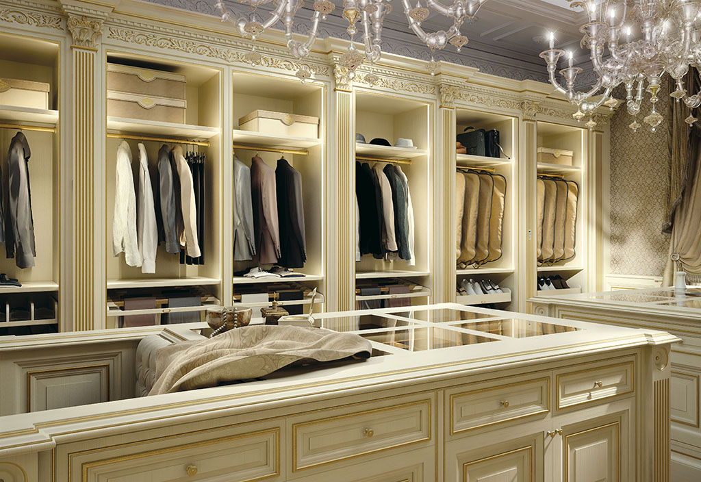 Bespoke Walk In Closet Made In Italy Elizabeth By Faoma
