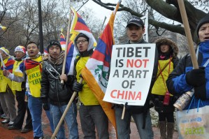 Tibetans, Uyghurs, And Taiwanese-Americans To Hold Joint Rally On Valentine's Day Protesting The Repression In Tibet And East Turkestan, And The Threats Against Taiwan