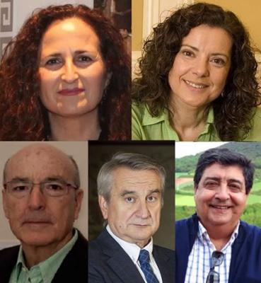 Jurado.- Rosalía Rodríguez López, Magis Iglesias, David Corral, Javier Galán y Jesús Pozo.