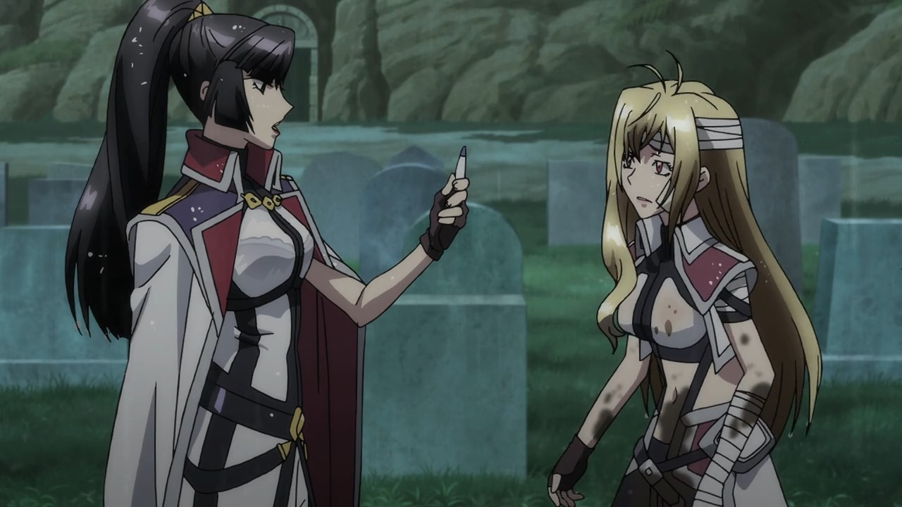 Cross Ange fanservice review episode 03 – Fapservice