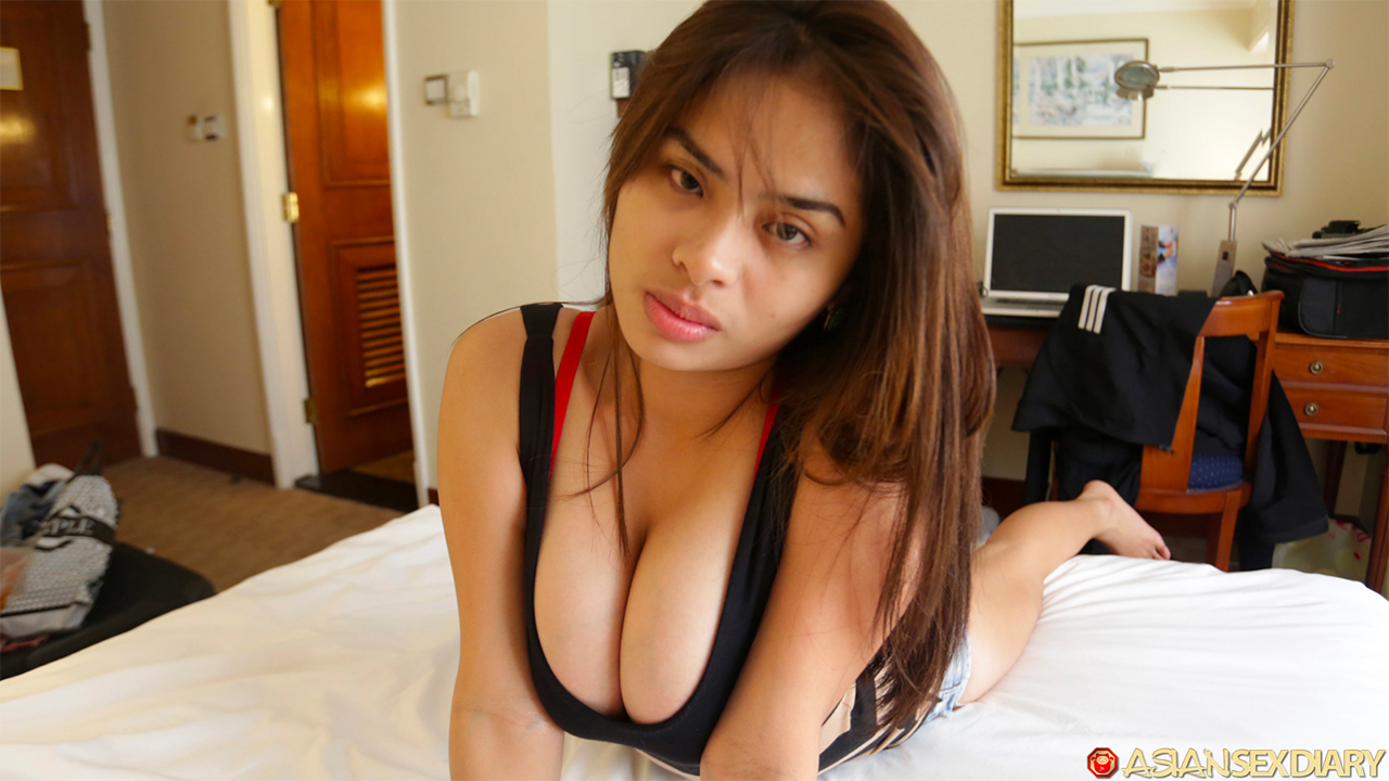 Young Asian Girl White Guy