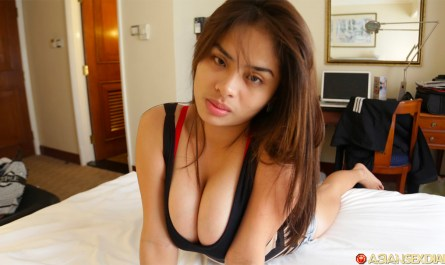 Filipina Big Tits cleavage photo of Bernadeath on Asian Sex Diary