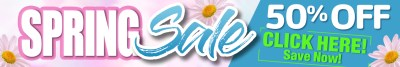 Trike Patrol Spring Sale banner from home page