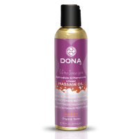 DONA Massage Oil SASSY - TROPICAL TEASE (110 мл)